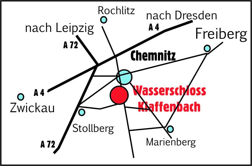 Anfahrt Klaffenbach