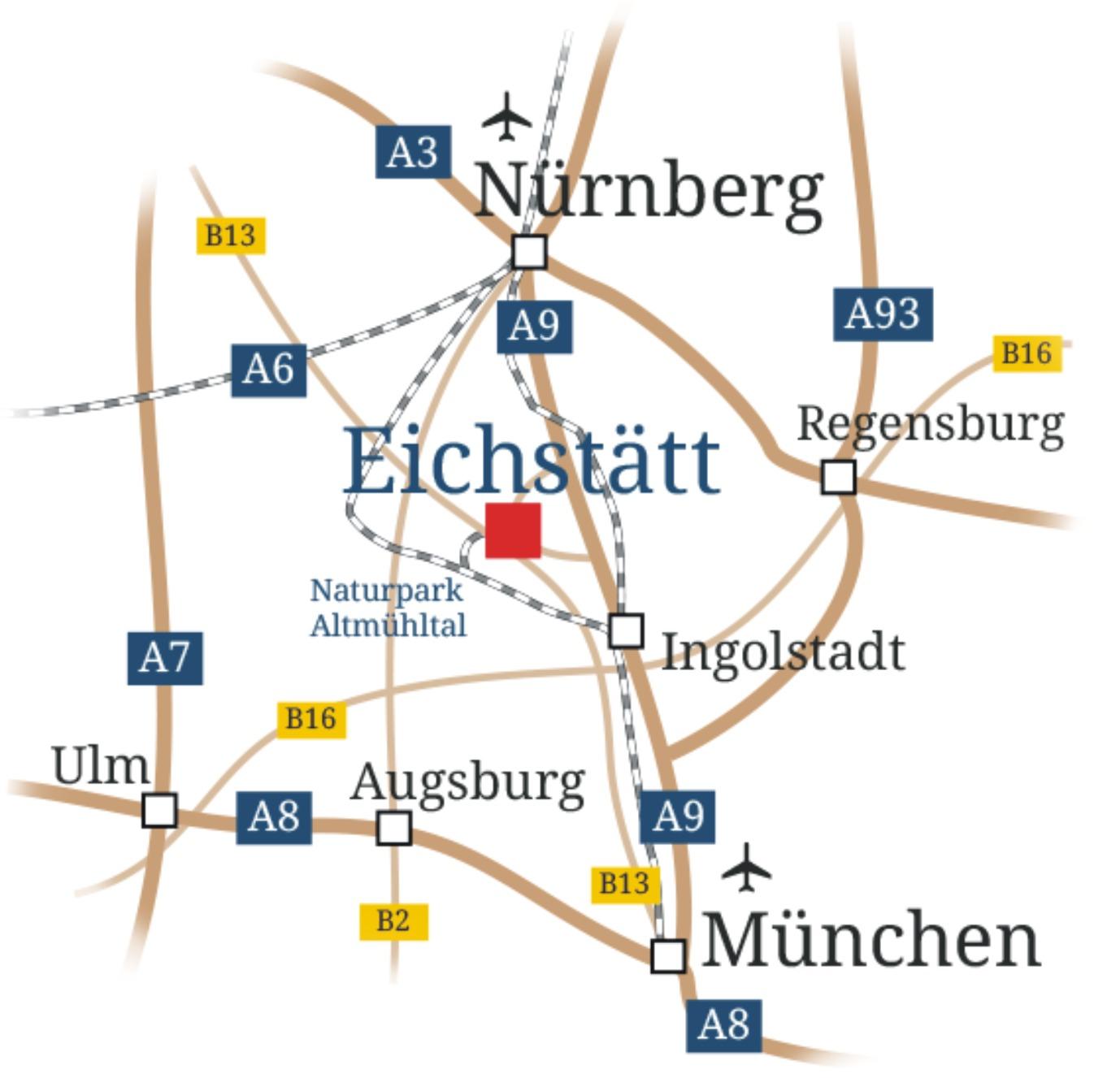 Anfahrtskizze EICH